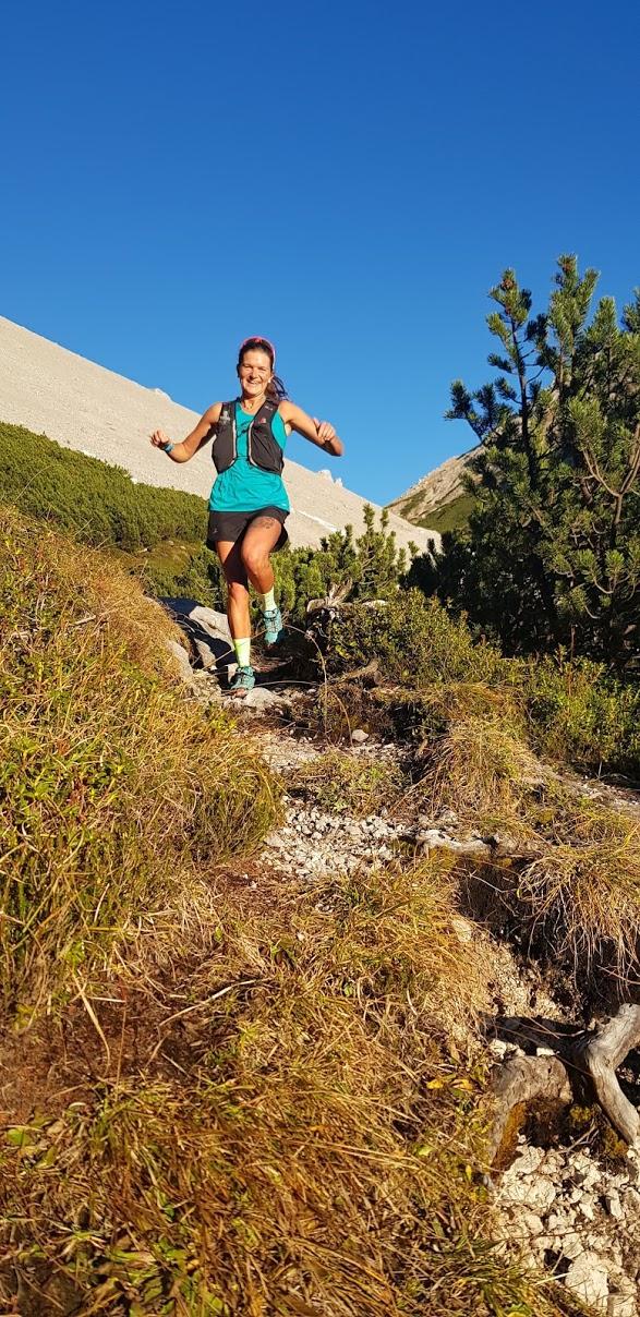 Nicole di corsa tra le montagne di casa sua, Champorcher è sempre nel cuore.
