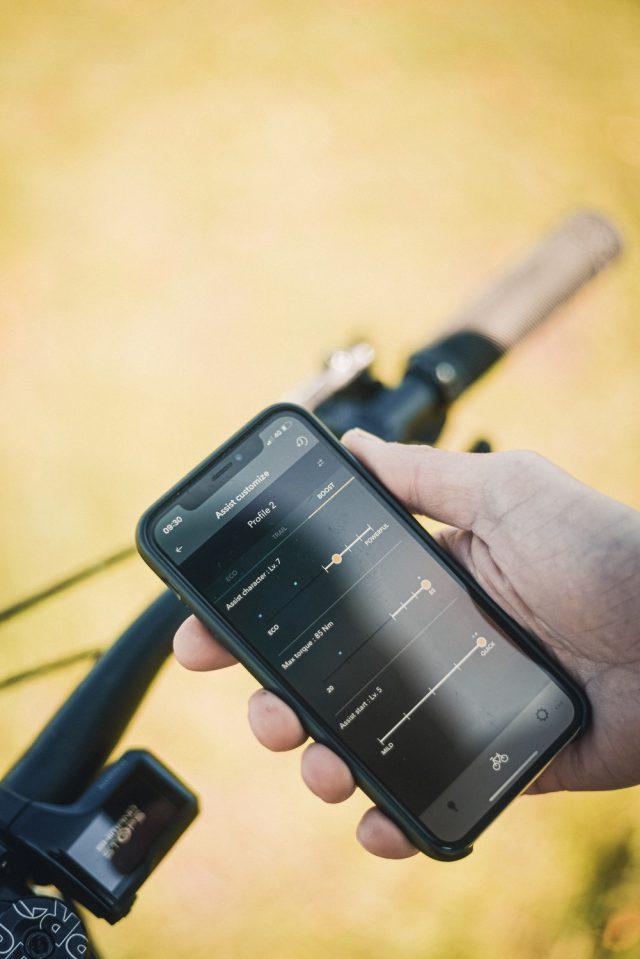 Shimano EP8 - app