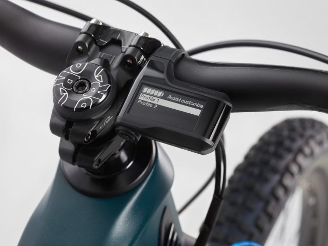 Shimano EP8 - profili display