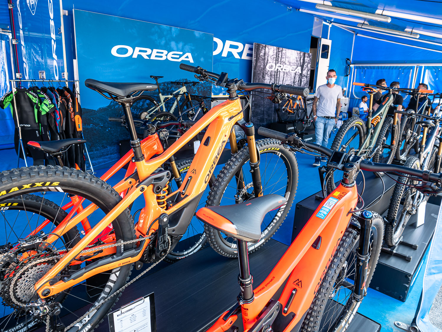 Orbea Wild FS - stand