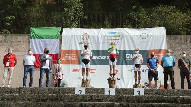 Campionato Italiano XCO 2020 - Podio Elite Women