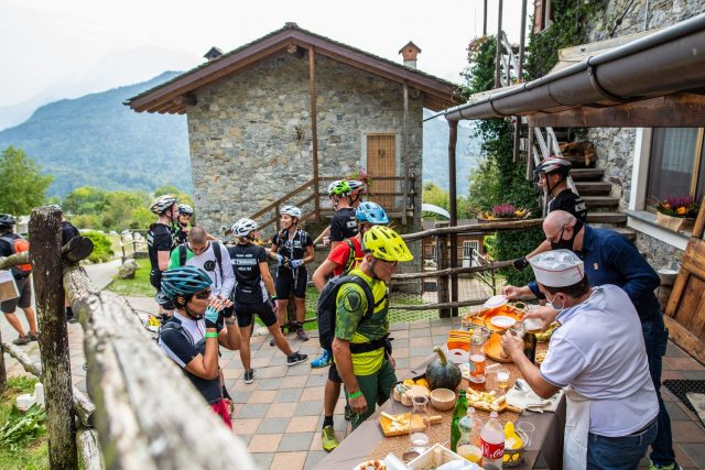 Valtellina E-Bike Festival - Trail Experience - ristori