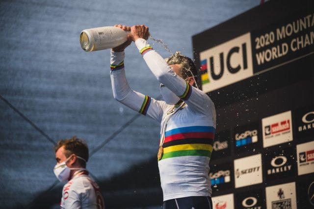 Mondiali MTB 2020 XCO - Sarrou podio