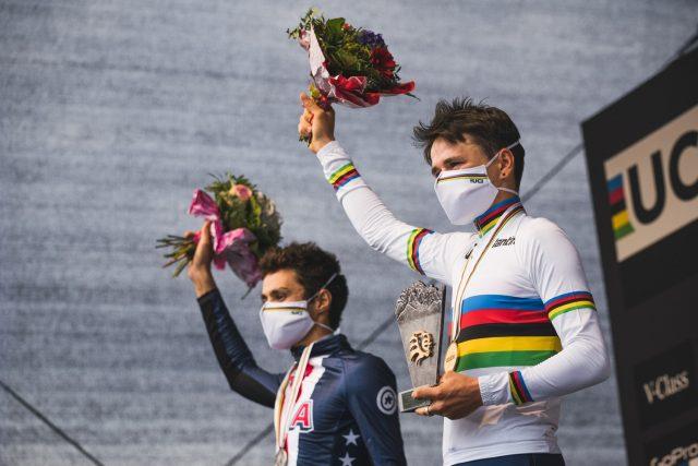Mondiali MTB 2020 XCO - Pidcock podio