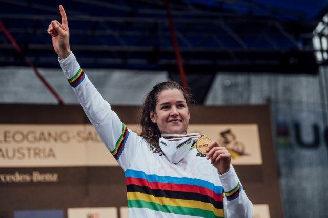 Mondiali MTB 2020 - Camille Balanche oro
