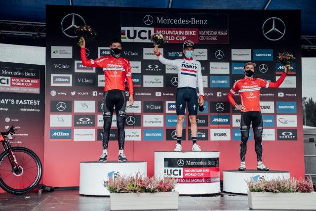 Nove Mesto 2020 - podio maschile XCO - 01