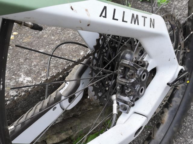 Haibike AllMtn 6 - short test - pinza freno