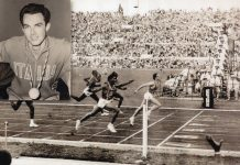 """La mitica finale olimpica dei 200 metri piani vinta in 20'""""5 decimi dal grande Livio Berruti"""