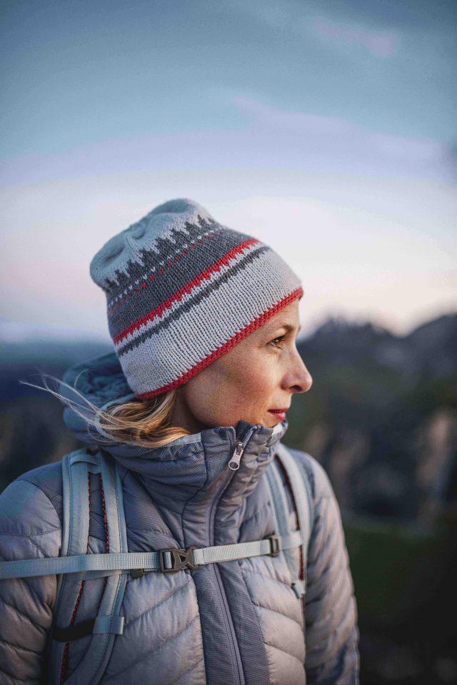Ruth Oberrauch, fondatrice e anima creativa del brand, è riuscita a trasferire nel nuovo marchio del gruppo Oberalp tutto il proprio amore e la passione per ciò che la circonda.