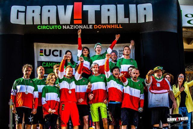 Campionato Italiano DH 2019 - Maglie tricolori