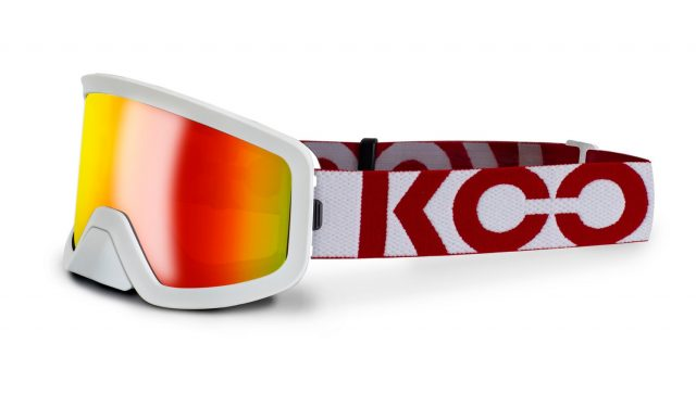 Koo Edge - white red mirror