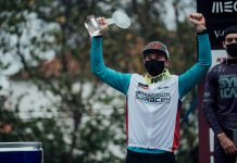 World Cup DH Lousa - Matt Walker - winner