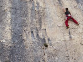 arrampicare autunno