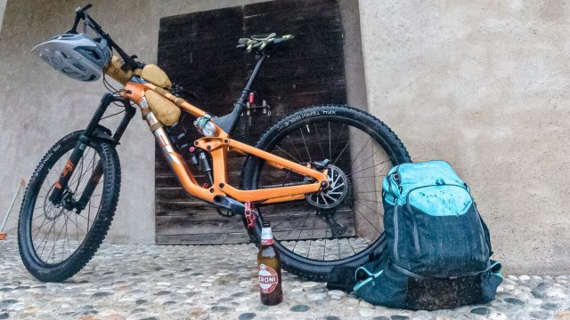 Enduro Bikepacking - Ferrania