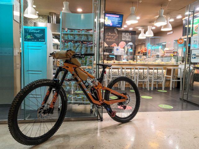 Enduro Bikepacking - caffè
