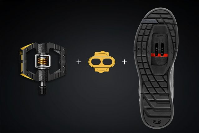 Interfaccia pedale tacchetta scarpa