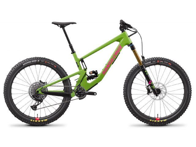 Santa Cruz Nomad CC X01 RSV Coil Adder Green