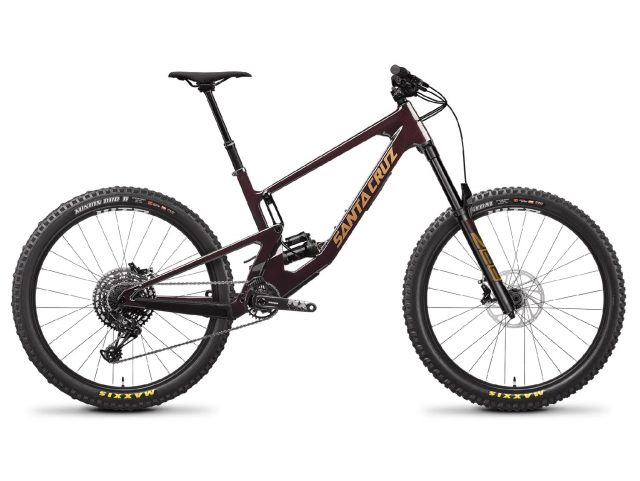 Santa Cruz Nomad C R Air Oxblood