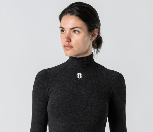 Silverskin Advanced Base Layer nella versione collo alto da donna a manica lunga