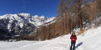 Snow Running e Snowshoes sono oramai di casa ai piedi del Monte Cervino grazie a una lodevole iniziativa del Comune di Valtournenche