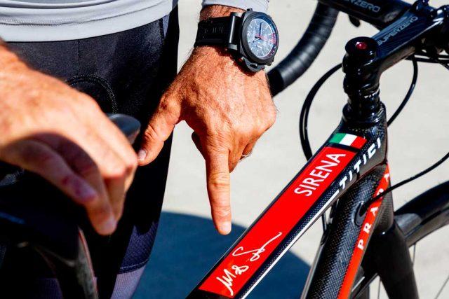 Luna Rossa Prada Pirelli e le biciclette Titici