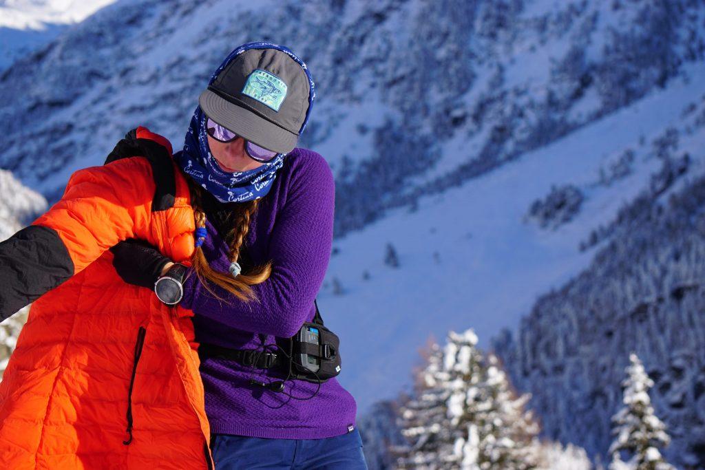 vestirsi scialpinismo