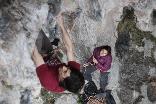 arrampicare inverno