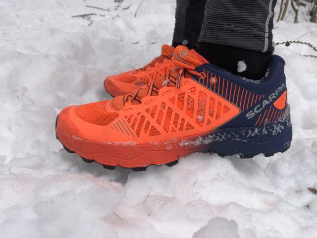 Scarpa Spin Ultra, perfetta per correre sulla neve