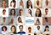 Il Brooks Run Happy Team italiano 2021