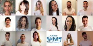 Il Brooks Run Happy Team italiano 2021