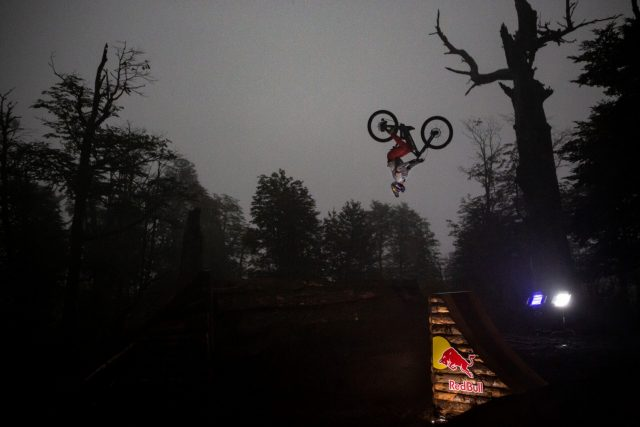 Pedro Burns - Ride Into Darkness - backflip