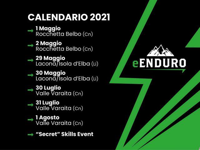 e-Enduro 2021 - calendario