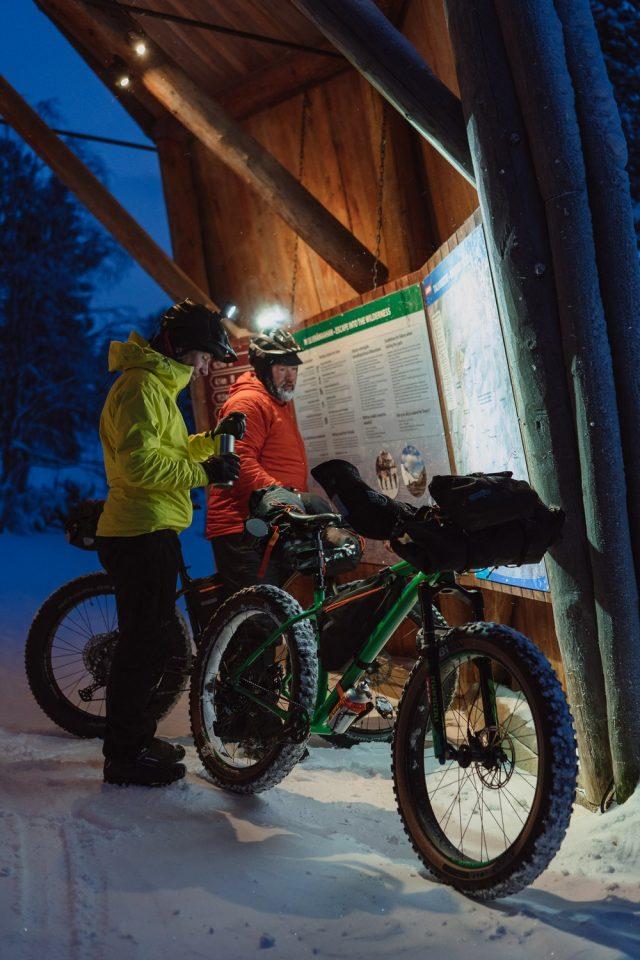 rail to trail - bikepacking lapponia - 15