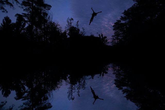 Thomas Genon - The Art of MTB - Reflection