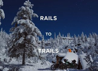 rail to trail - bikepacking lapponia - cover