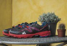 La Millet Light Rush, con i suoi 260 grammi nella misura US 9 è tra le calzature trail più leggere in commercio.