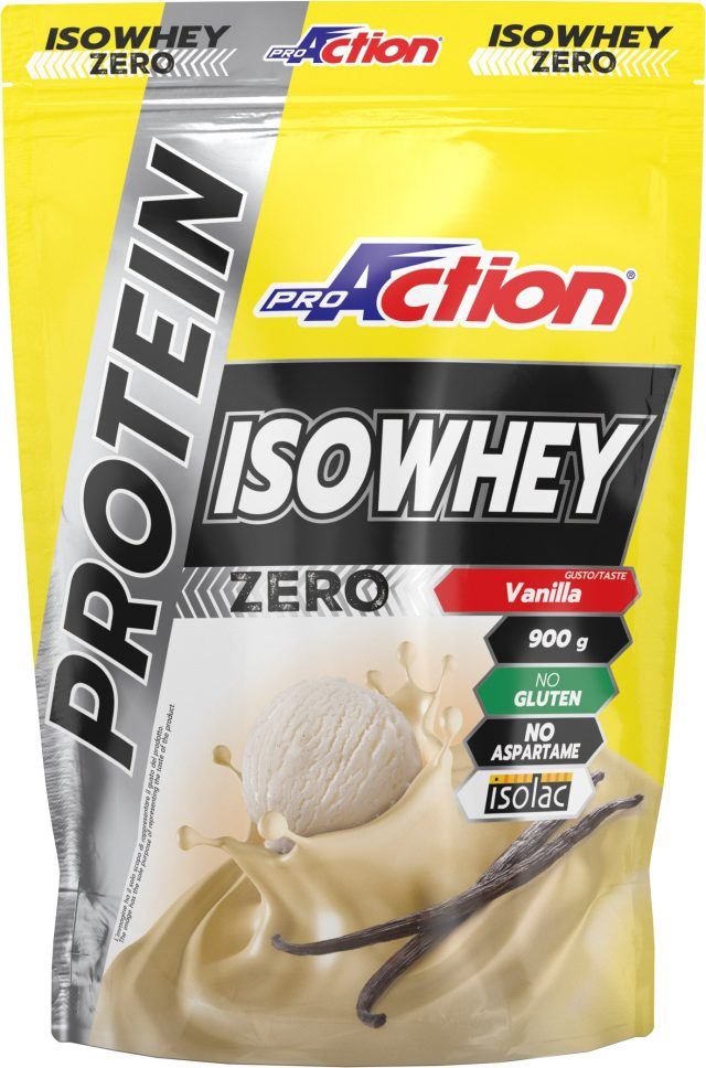 Proteine e recupero, c'é Proaction IsoWhey