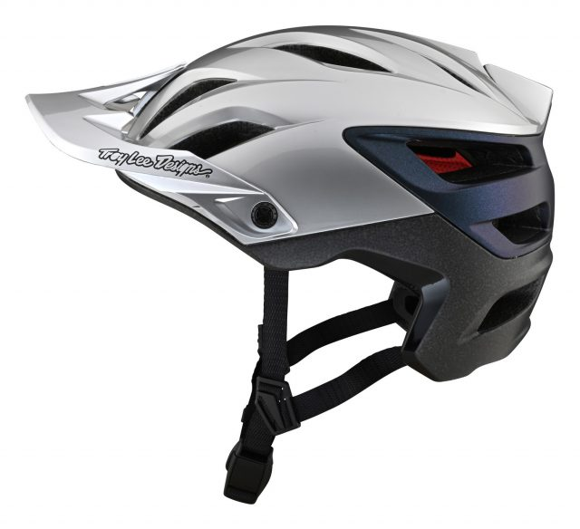 Troy Lee Designs A3 Silver/Electric - 01