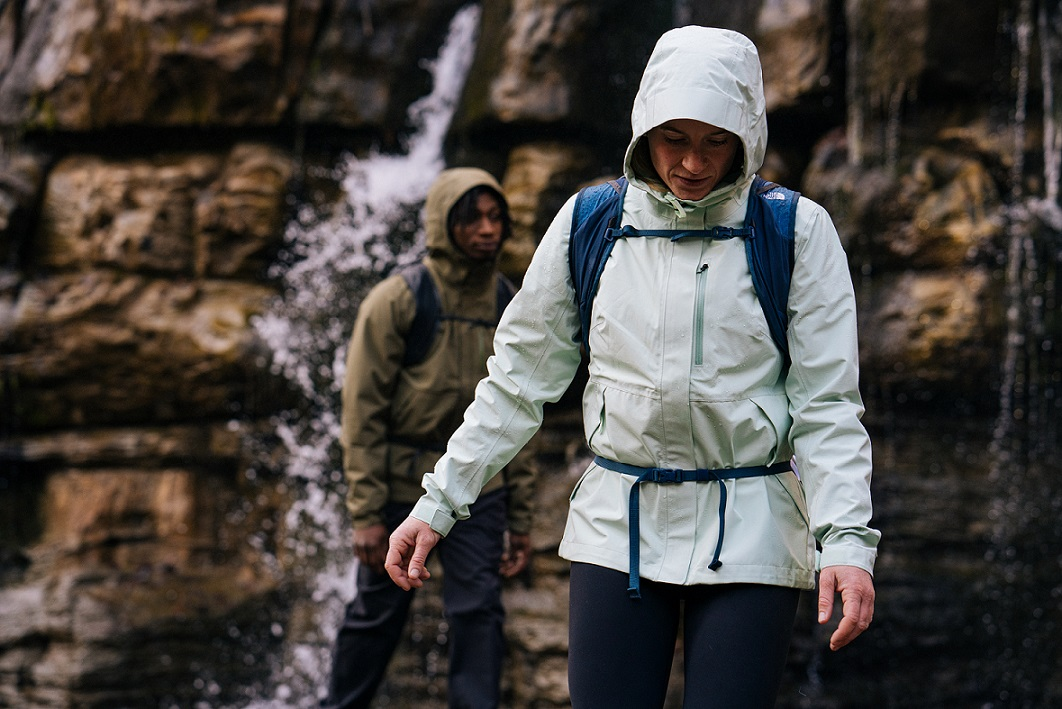 the north face rainwear