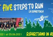 Mino Passoni riparte da Affari&Sport con 5 Five Steps To Run