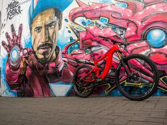 Fotografare la bici - muro