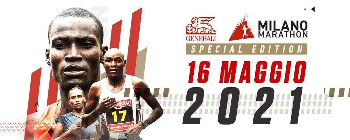 Generali Milano Marathon Special Edition, il 16 maggio la kermesse italiana con atleti top!