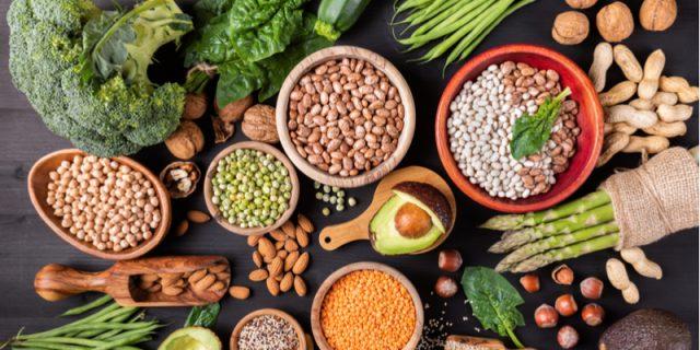 legumi e verdure