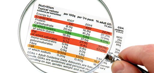 energy bar valori nutrizionali