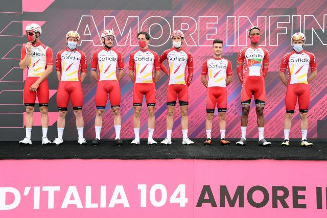 Team Cofidis, protagonisti al Giro d'Italia