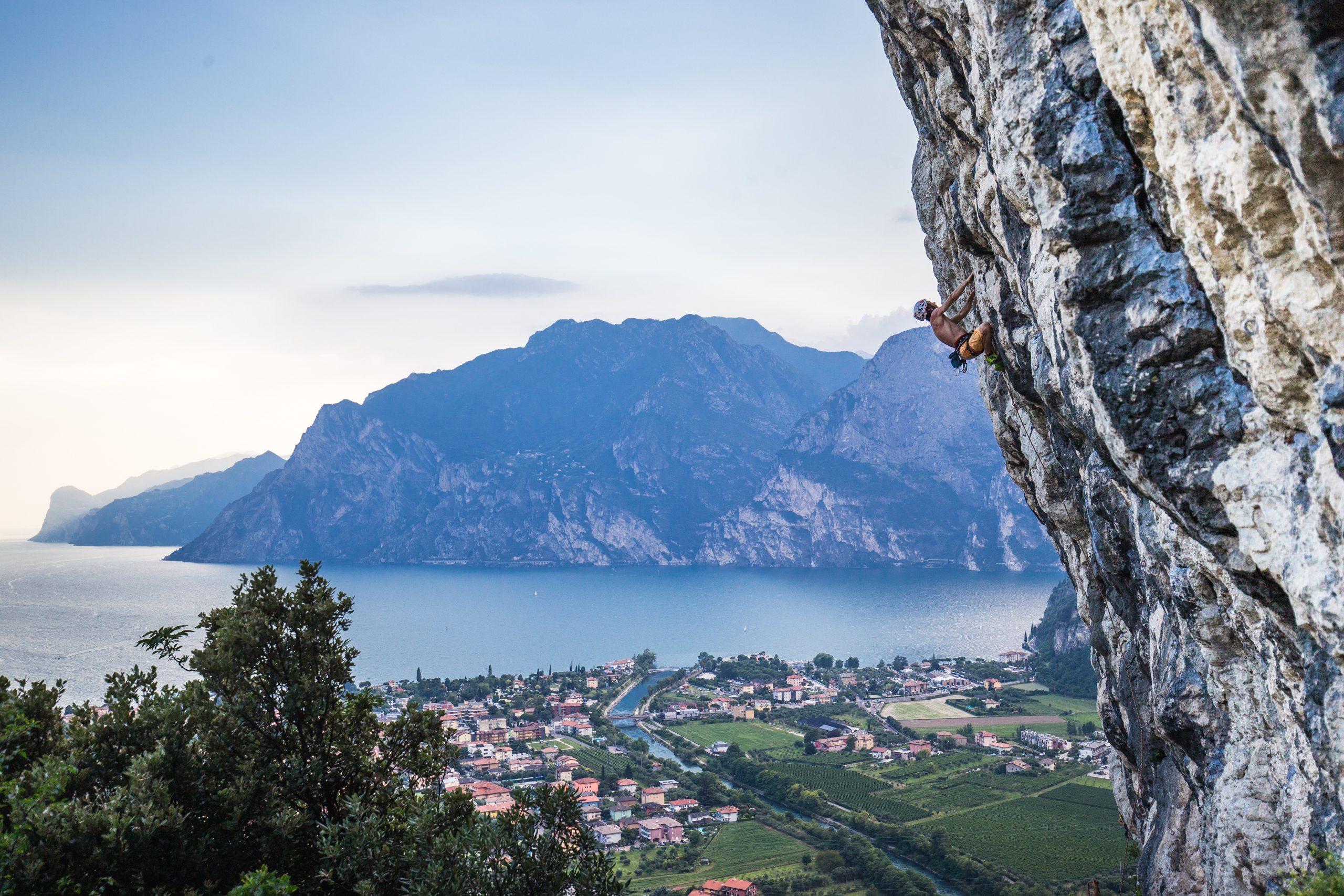 trentino climbing