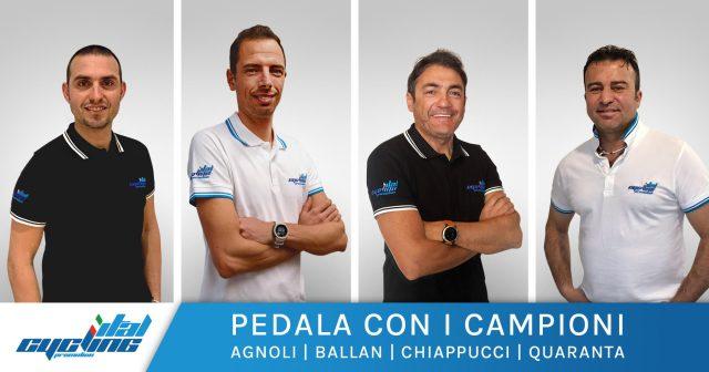 ital cycling promotion pedala con i campioni