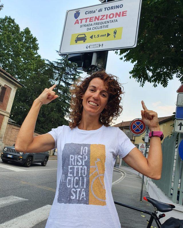 Sicurezza in bici, l'iniziativa di Paola Gianotti