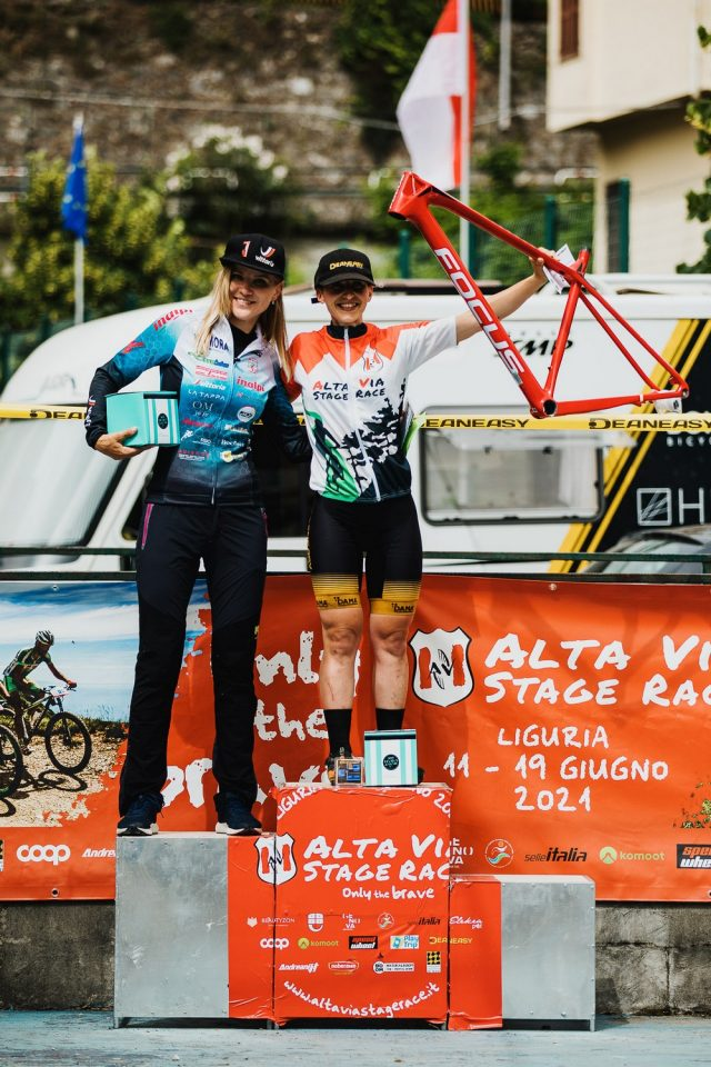 Alta Via Stage Race 2021 report - women