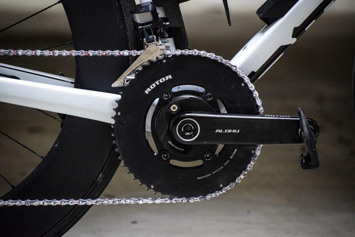 Rotor e quelle pedivelle in carbonio